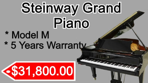 Steinway Grand Piano Model M on sale