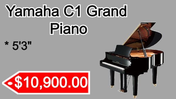 Yamaha C1 Grand Piano on sale