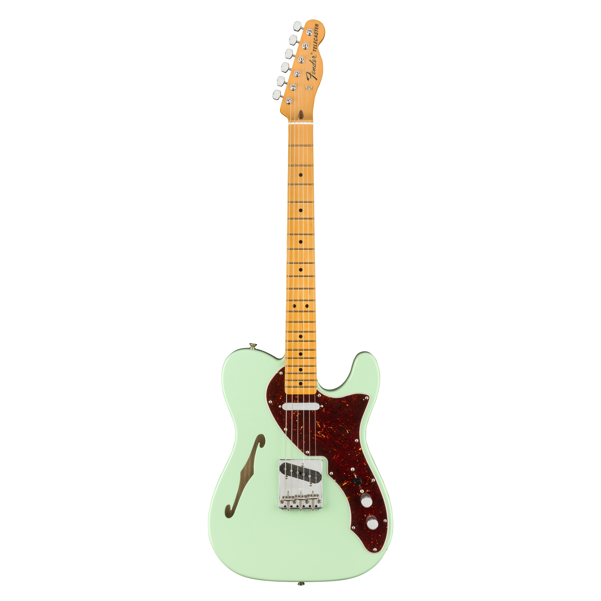 Fender  American Original 60s Telecaster® Thinline, Maple Fingerboard, Surf Green