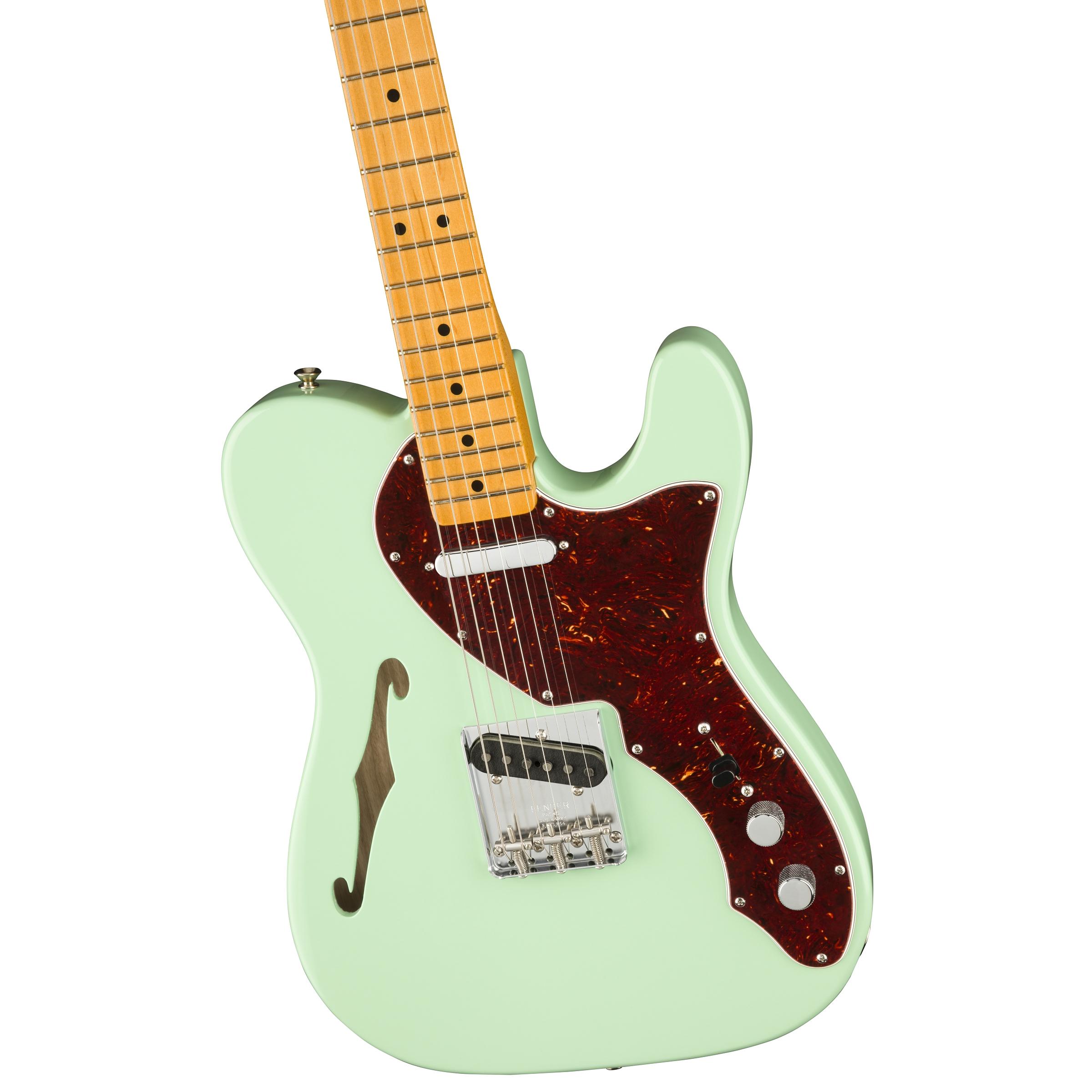 Fender  American Original 60s Telecaster® Thinline, Maple Fingerboard, Surf Green