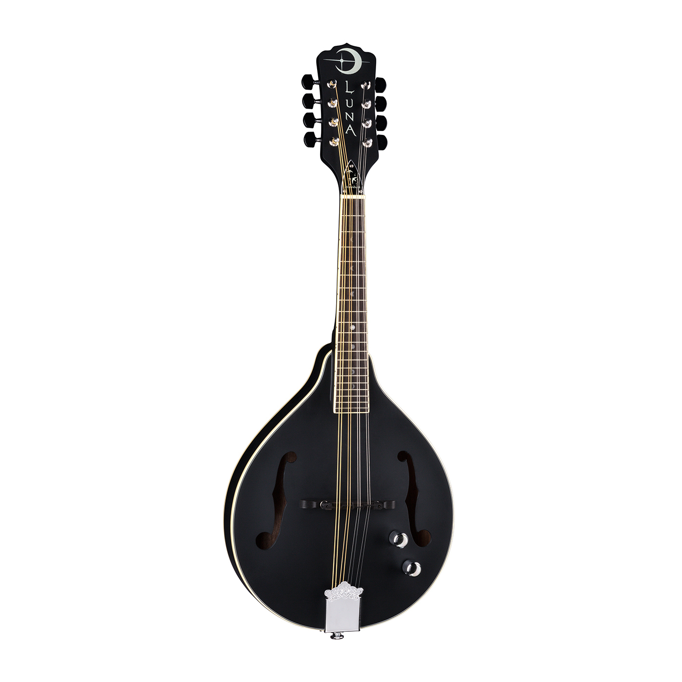 Luna Moonbird A-Style Mandolin A/E - Satin Black