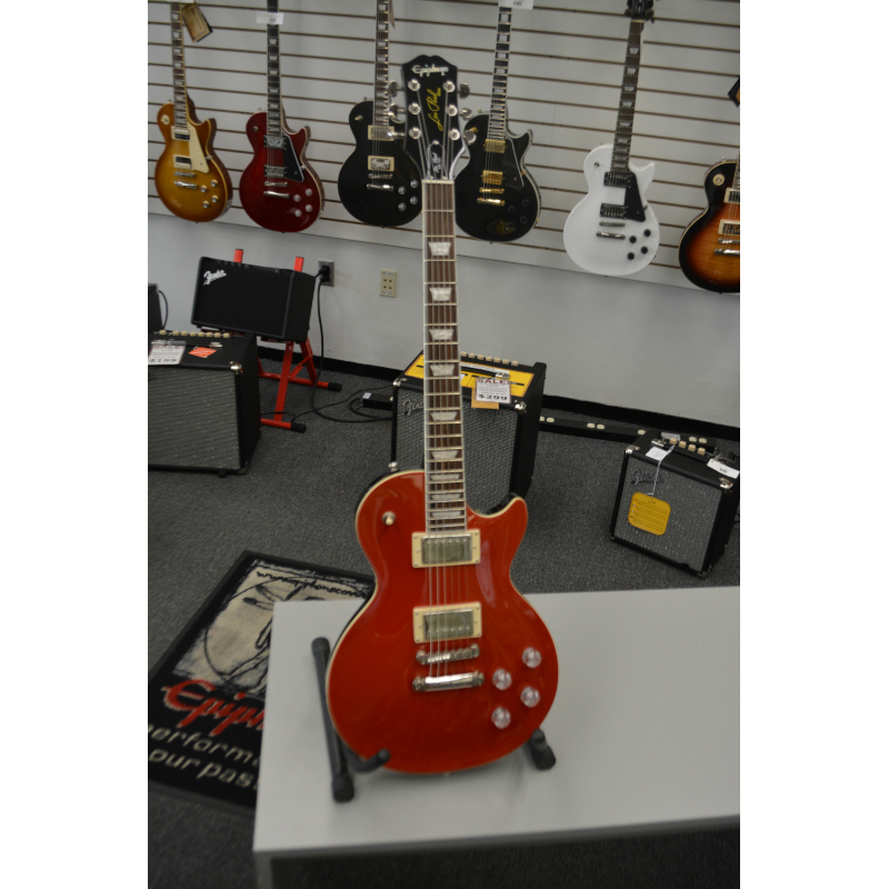 Epiphone Les Paul Muse Scarlett Red Metalic