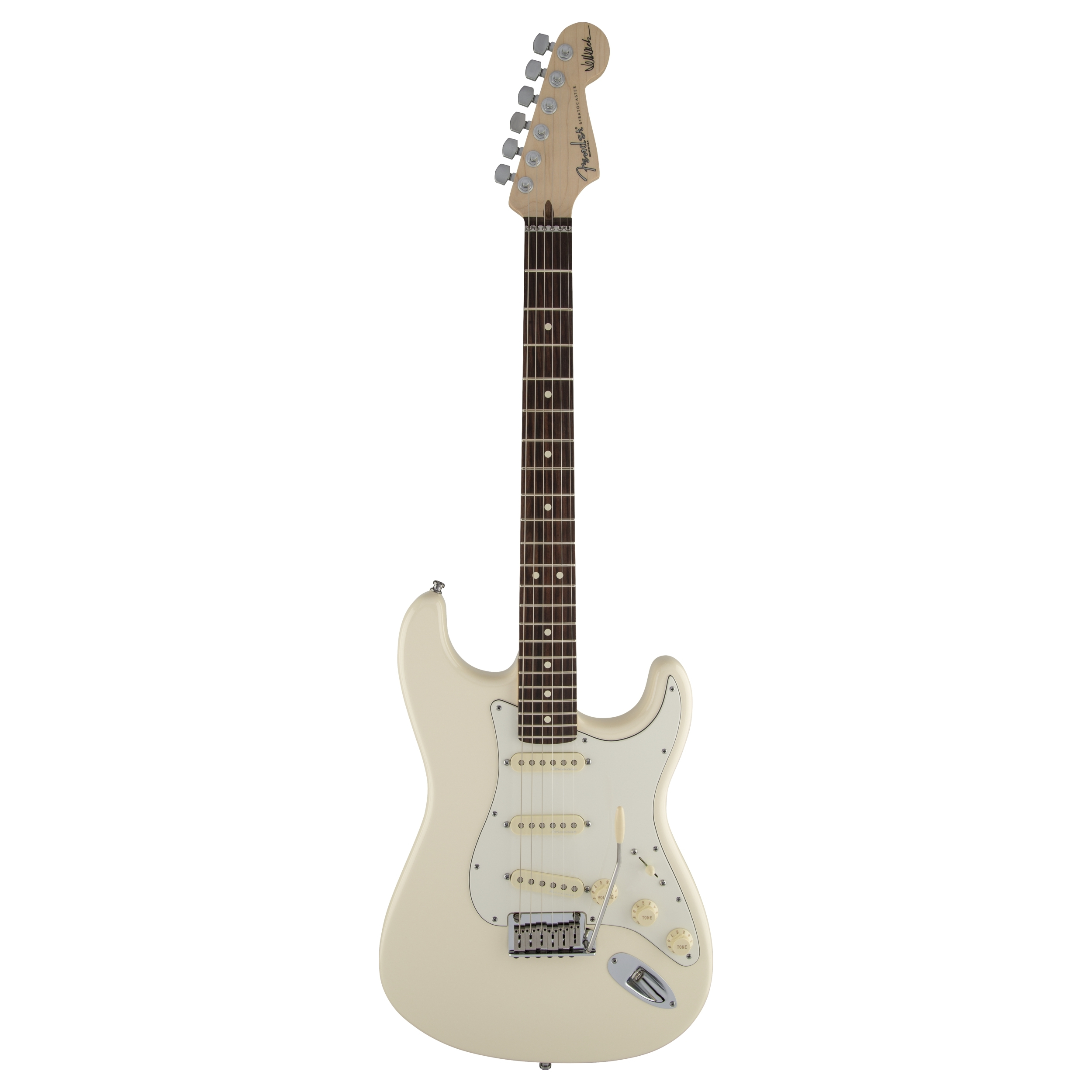 Fender Jeff Beck Stratocaster®, Rosewood Fingerboard, Olympic White