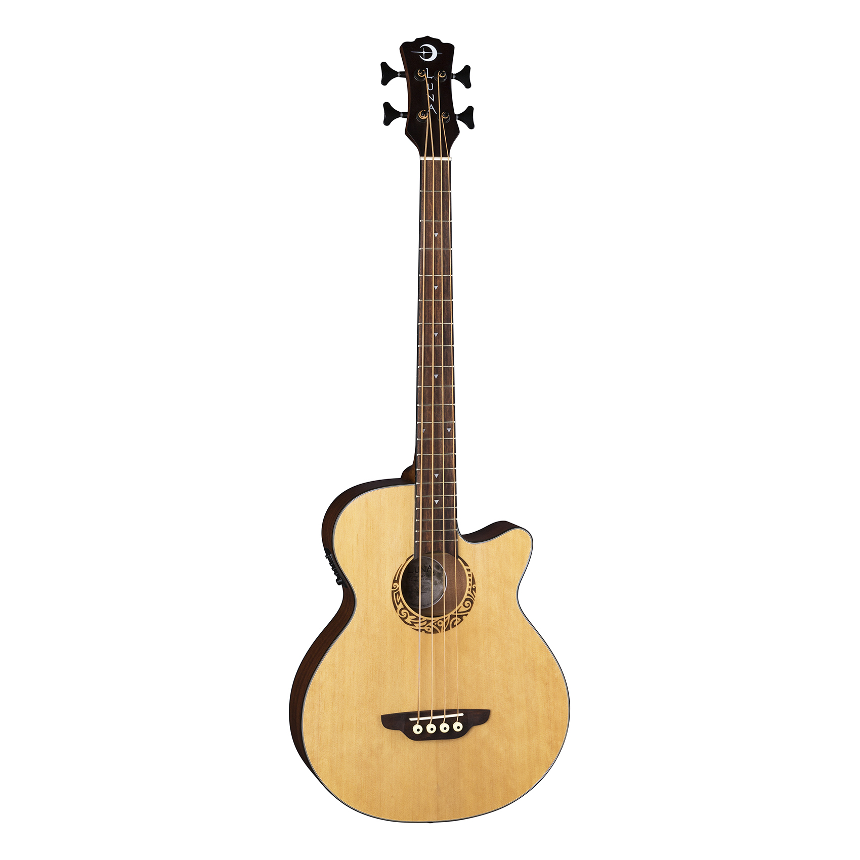 Luna Tribal Bass A/E Satin Natural - LAB 30 TRIBAL
