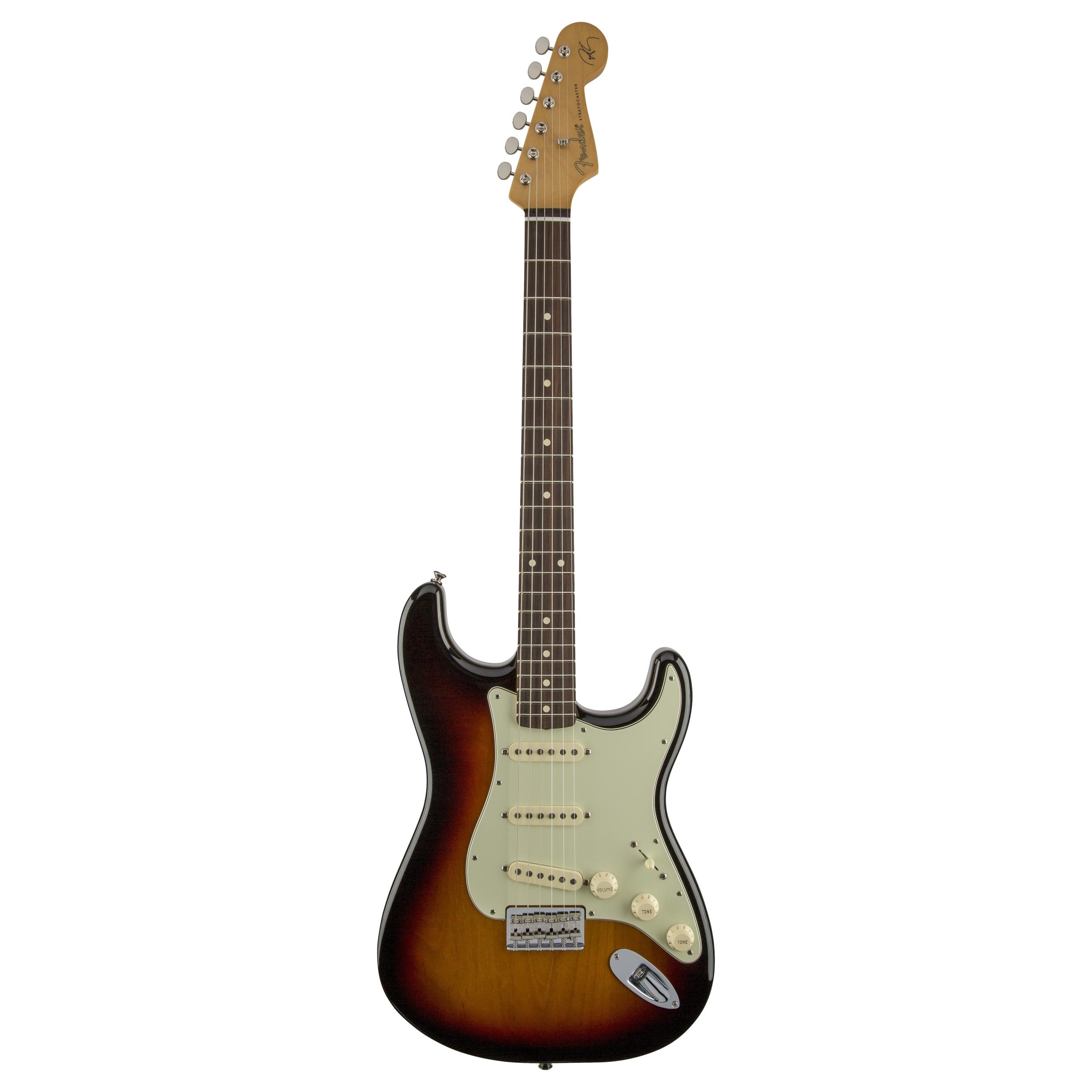 Fender Robert Cray Stratocaster®, Rosewood Fingerboard, 3-Color Sunburst