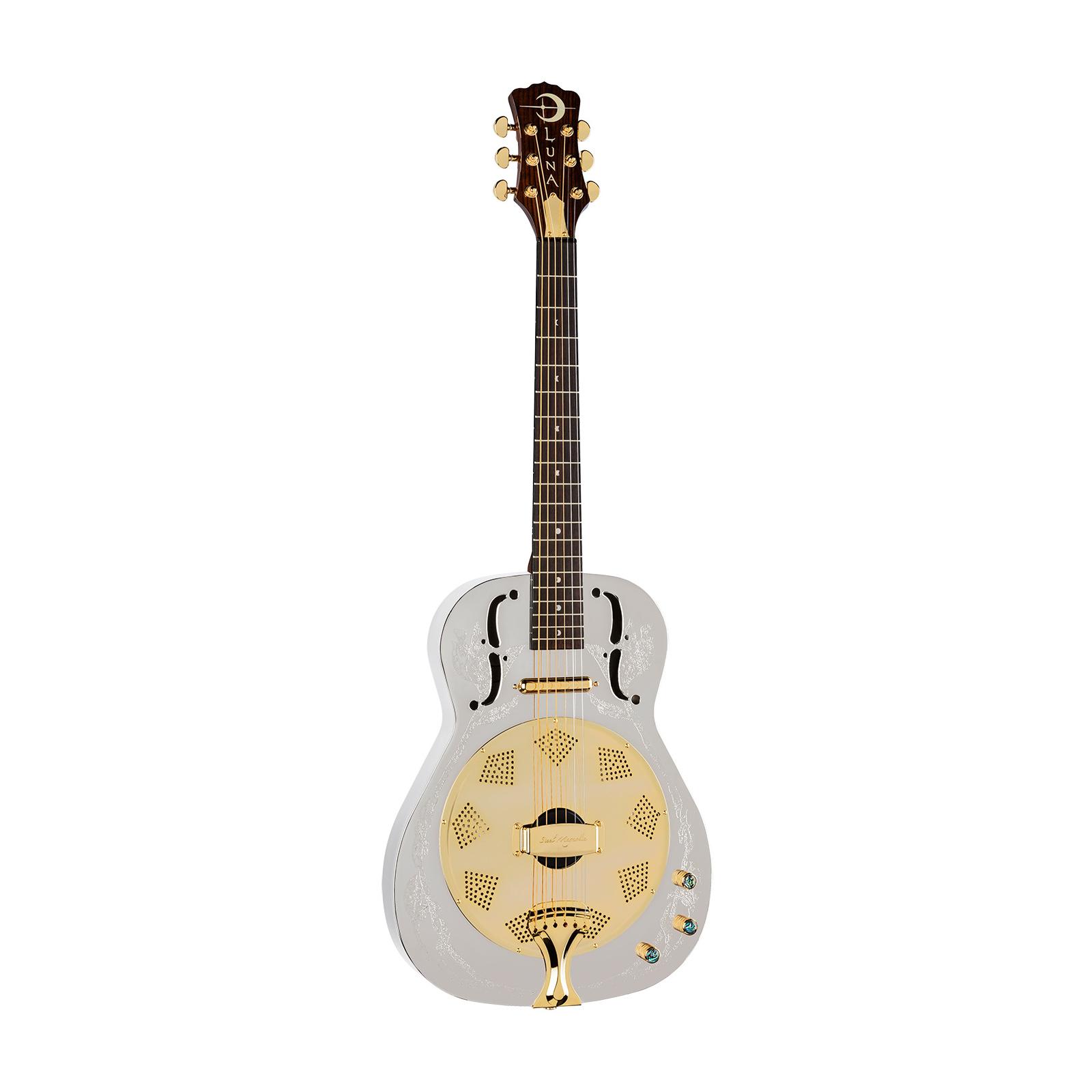 Luna Steel Magnolia Resonator Acoustic / Electric