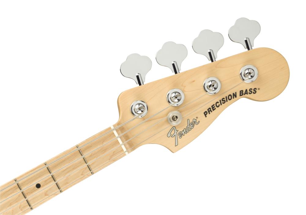 Fender American Performer Precision Bass®, Maple Fingerboard, Satin Lake Placid Blue