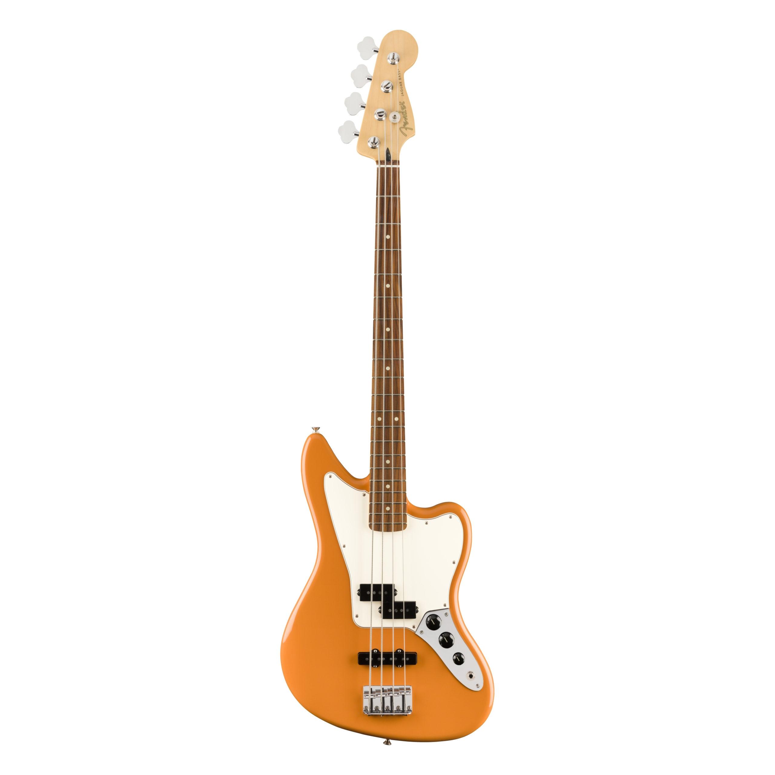 Fender Player Jaguar® Bass, Pau Ferro Fingerboard, Capri Orange