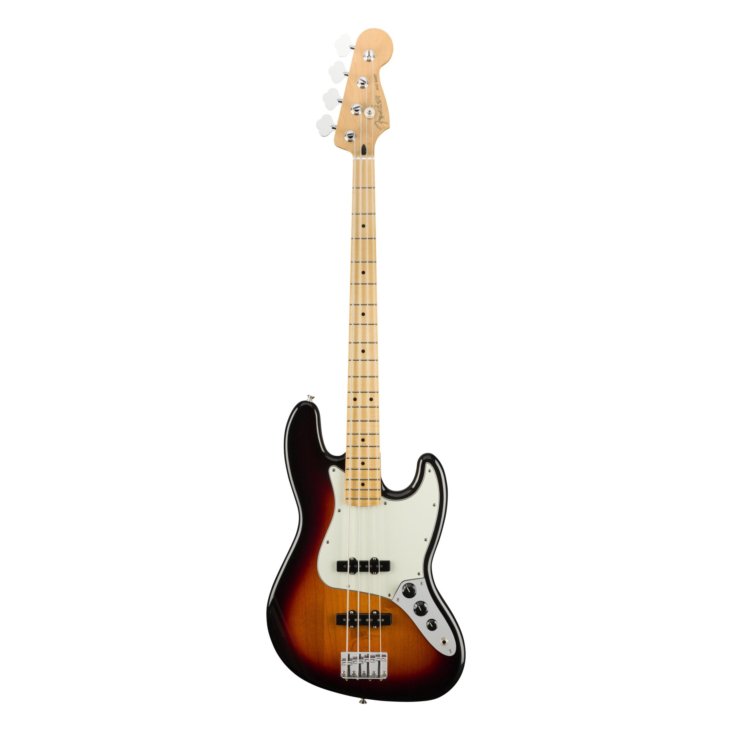 Fender Player Jazz Bass®, Maple Fingerboard, 3-Color Sunburst