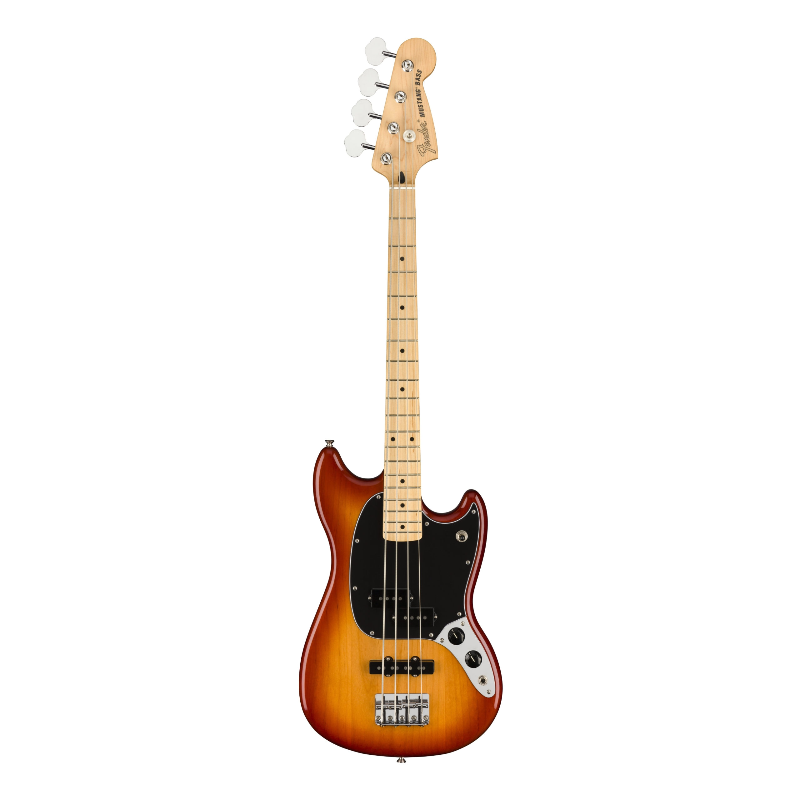 Fender Player Mustang® Bass PJ, Maple Fingerboard, Sienna Sunburst