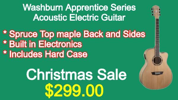 Washburn AG40CEK Acoustic Guitar