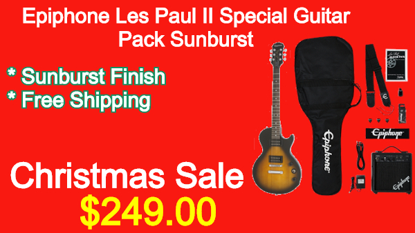 Epiphone LesPaul II Special Guitar Pack Sunburst