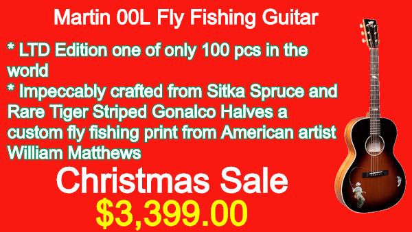 Martin 00L Fly Fishing Guitar