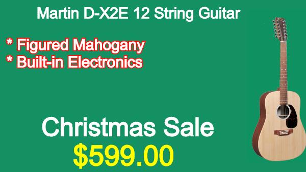 Martin DX2E 12 String Guitar