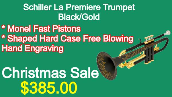 Schiller La Premiere Trumpet Black_Gold