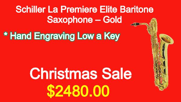 Schiller-La-Premiere-Elite-Baritone-Saxophone-Gold