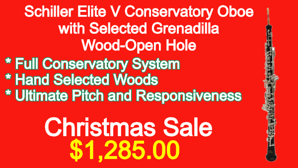 Schiller-Elite-V-Conservatory-Oboe-with-Selected-Grenadilla-Wood-Open-Hole