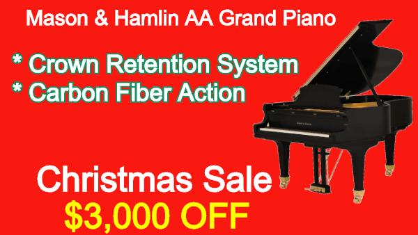 Mason & Hamlin AA Grand Piano
