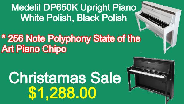 Medeli DP650K Upright Piano