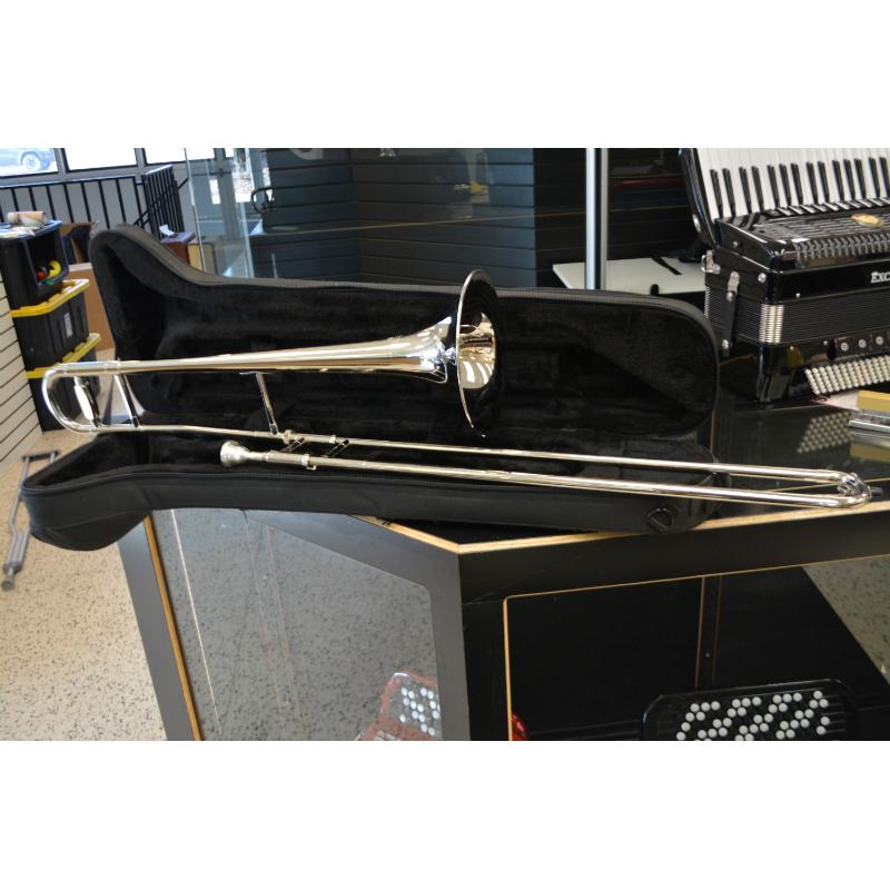 Schiller American Heritage Trombone Nickel Plated