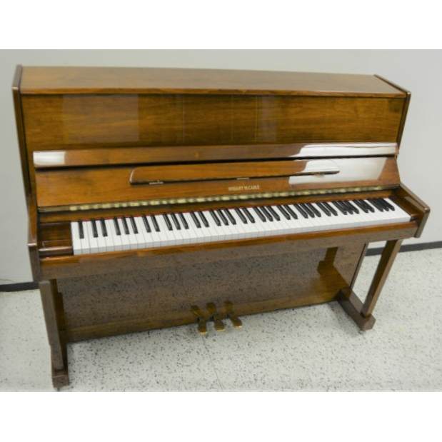 Hobart M. Cable Studio Upright Piano Walnut Polish