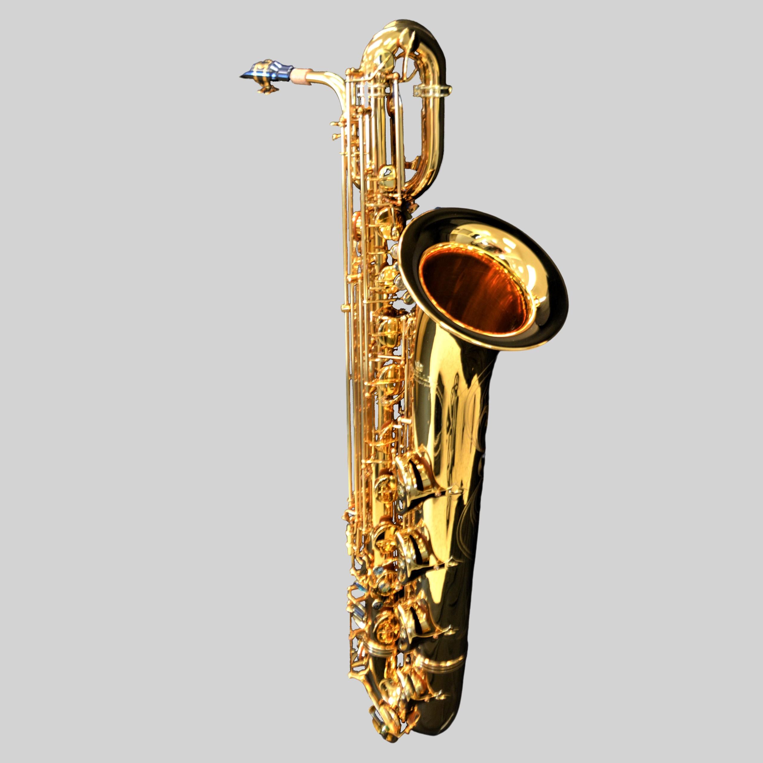 Schiller Elite V Baritone Saxophone Gold Plate