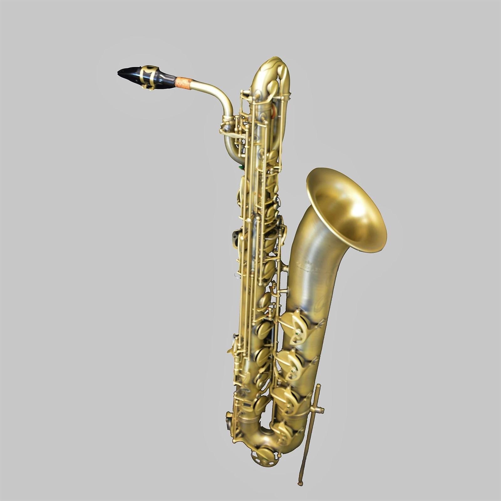 Schiller Elite V Baritone Saxophone Luxus Brass Plated