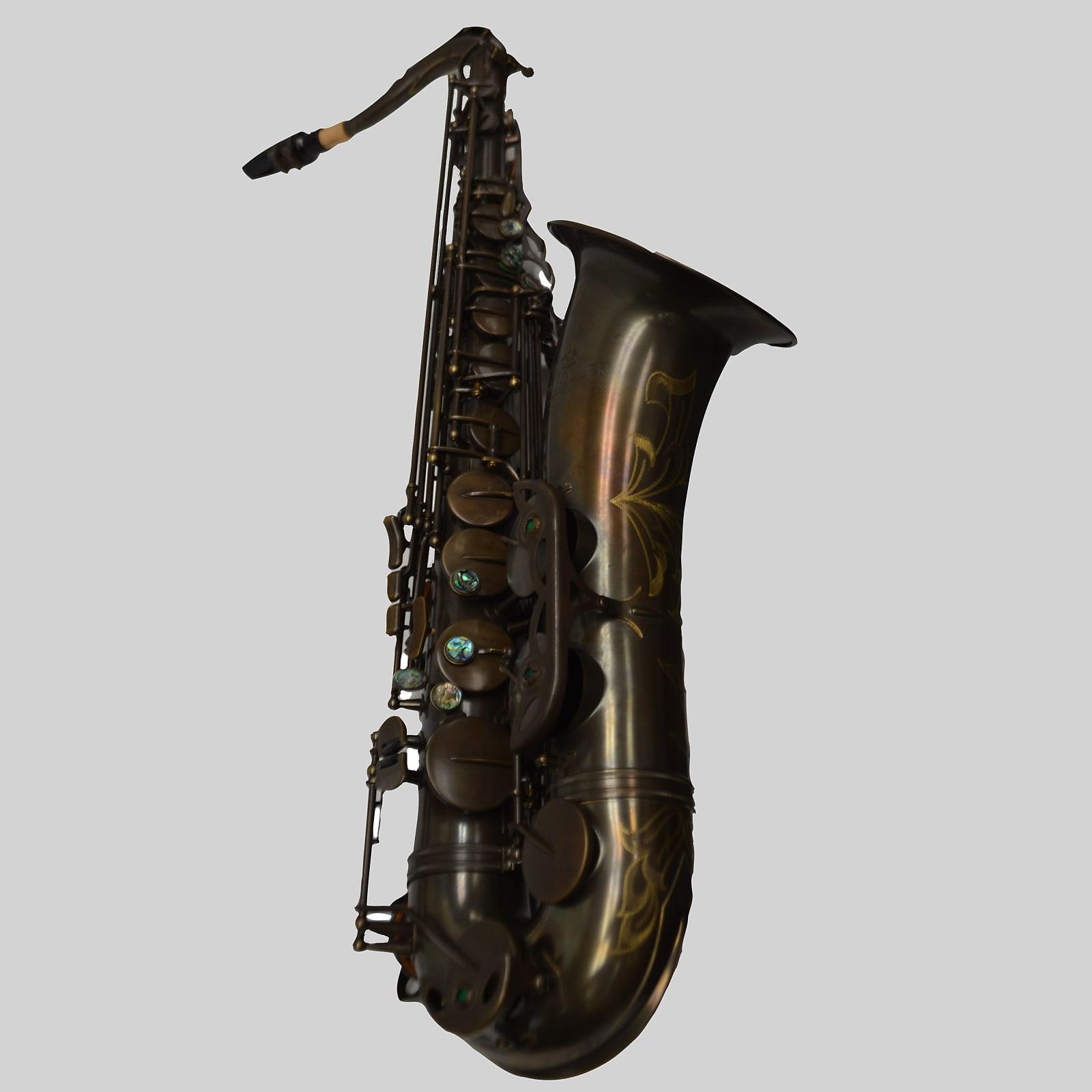 Schiller Elite V Tenor Saxophone Aged Brass