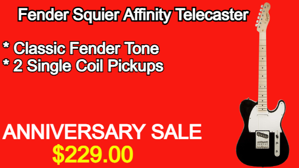 Squier Affinity Telecaster Black