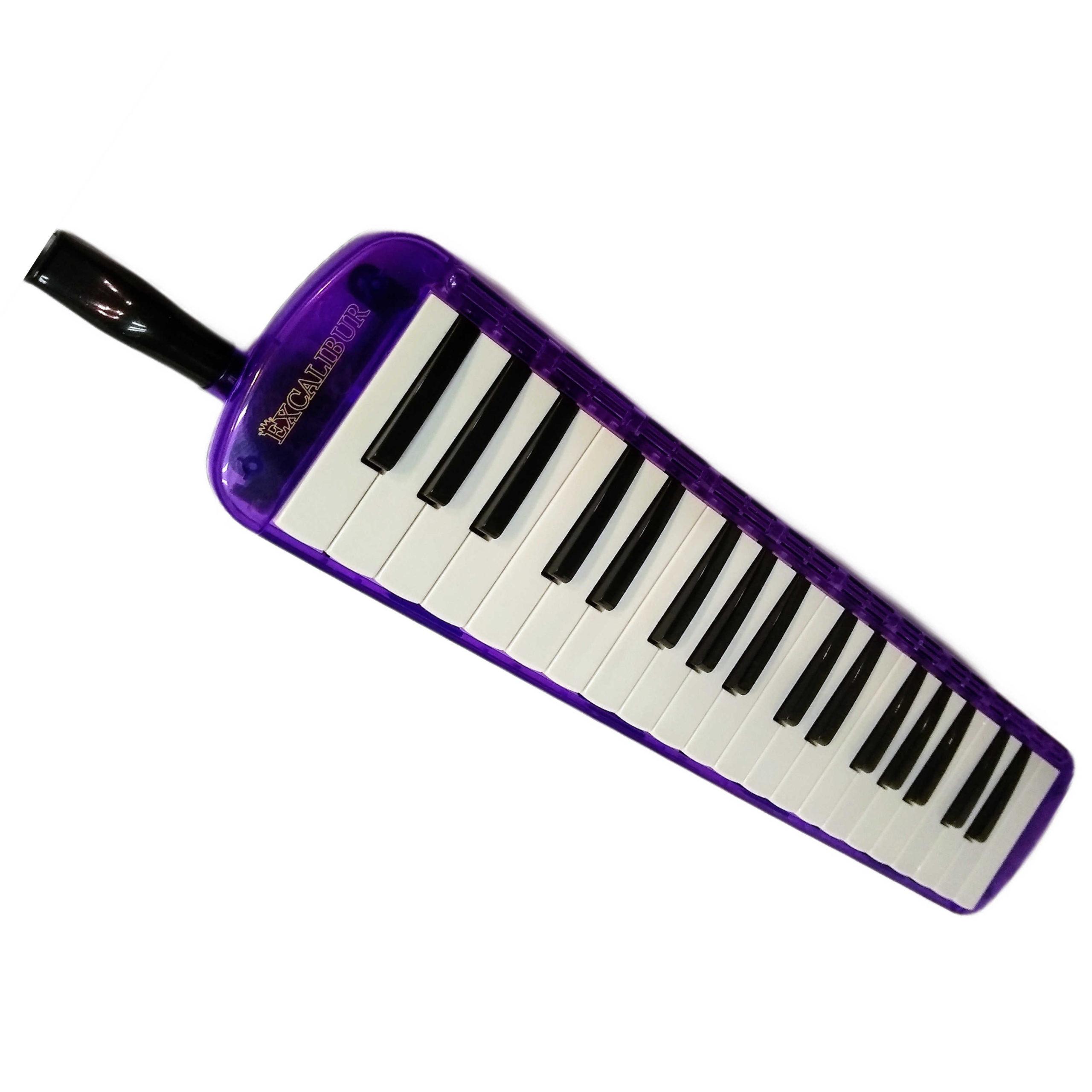 Excalibur 37 Note Transparent Pro Series Purple