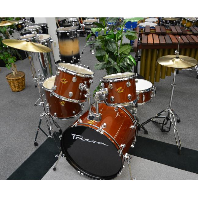 Trixon Luxus 100 5 Piece Drumset Mexican Brown Sparkle