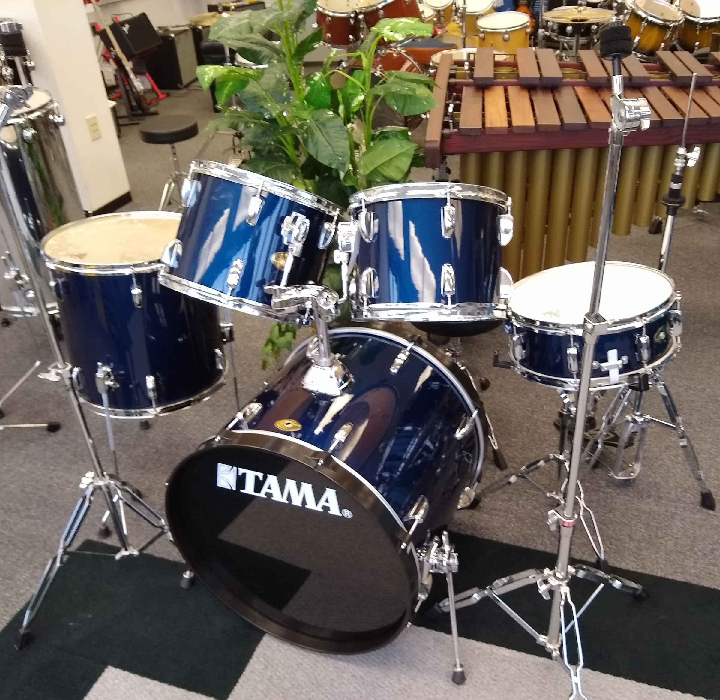Tama Swingstar Drum set Midnight Blue