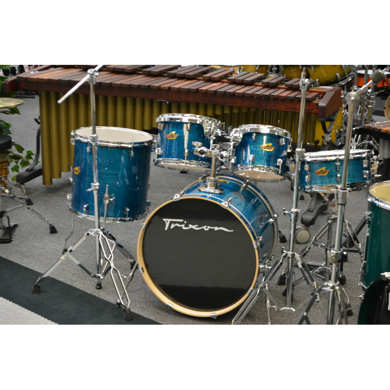 Trixon Solist 5 Piece Drumset - Ocean Blue