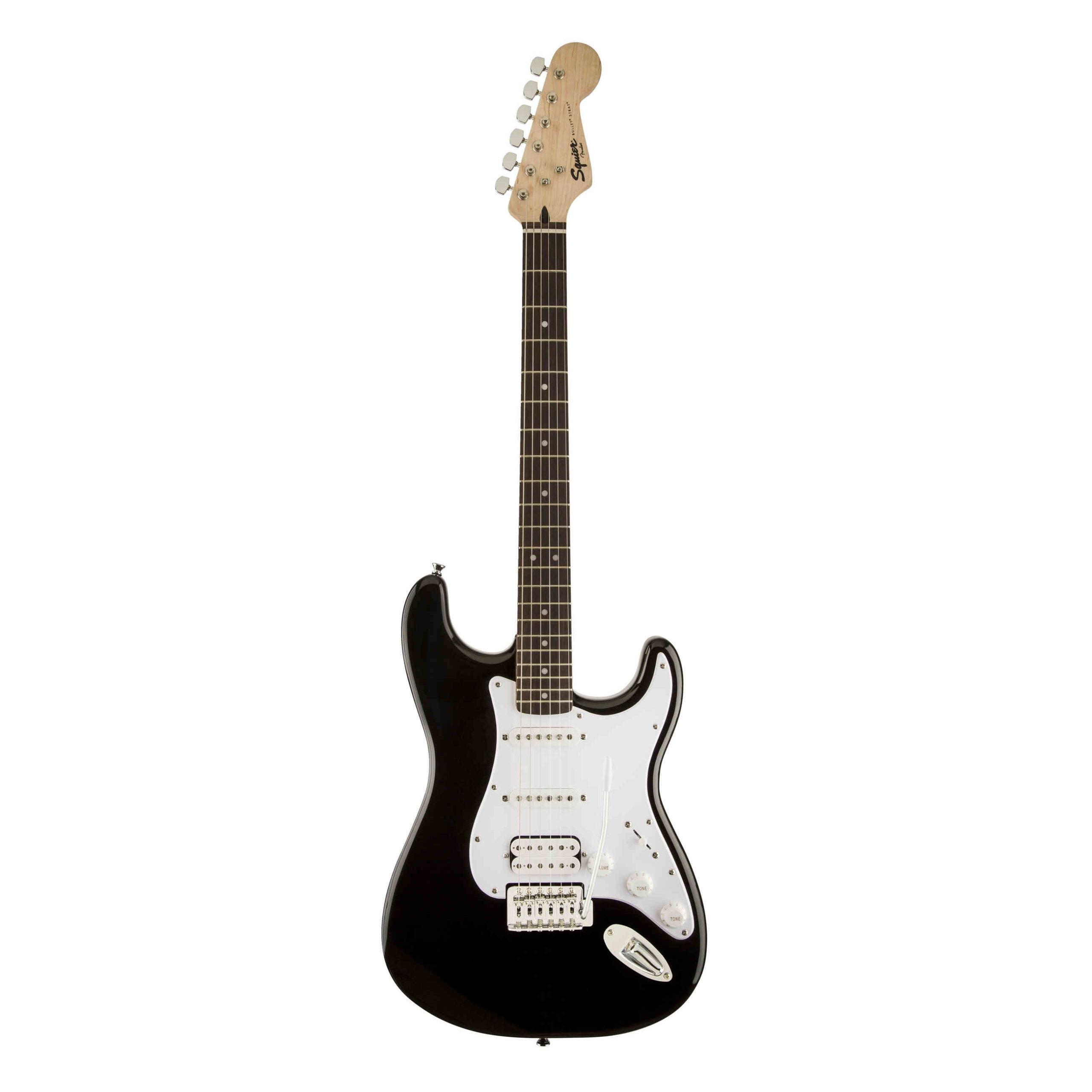 Squier Bullet® Stratocaster® HSS, Laurel Fingerboard, Black