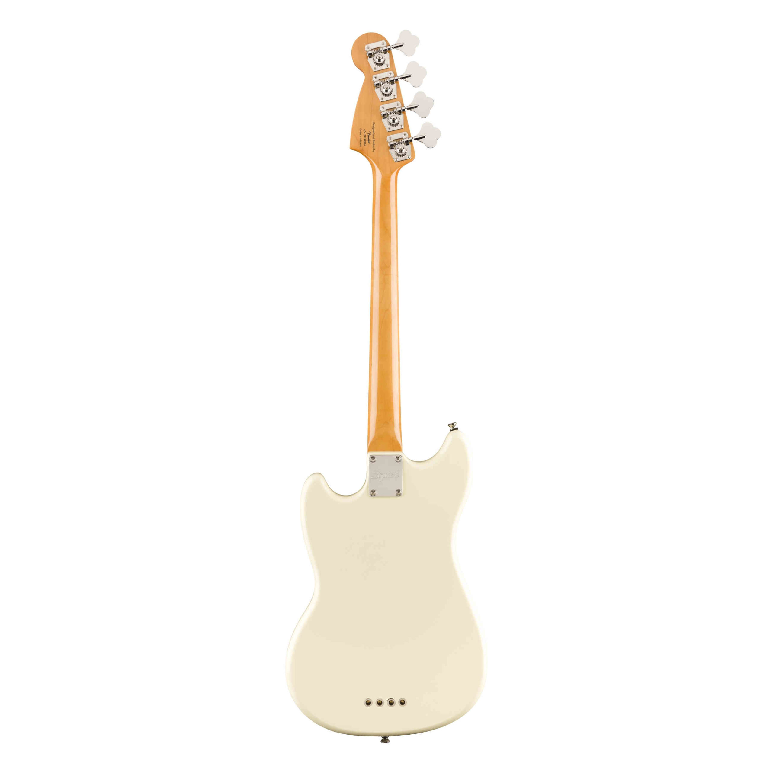 Squier Classic Vibe '60s Mustang® Bass, Indian Laurel Fingerboard, Olympic White