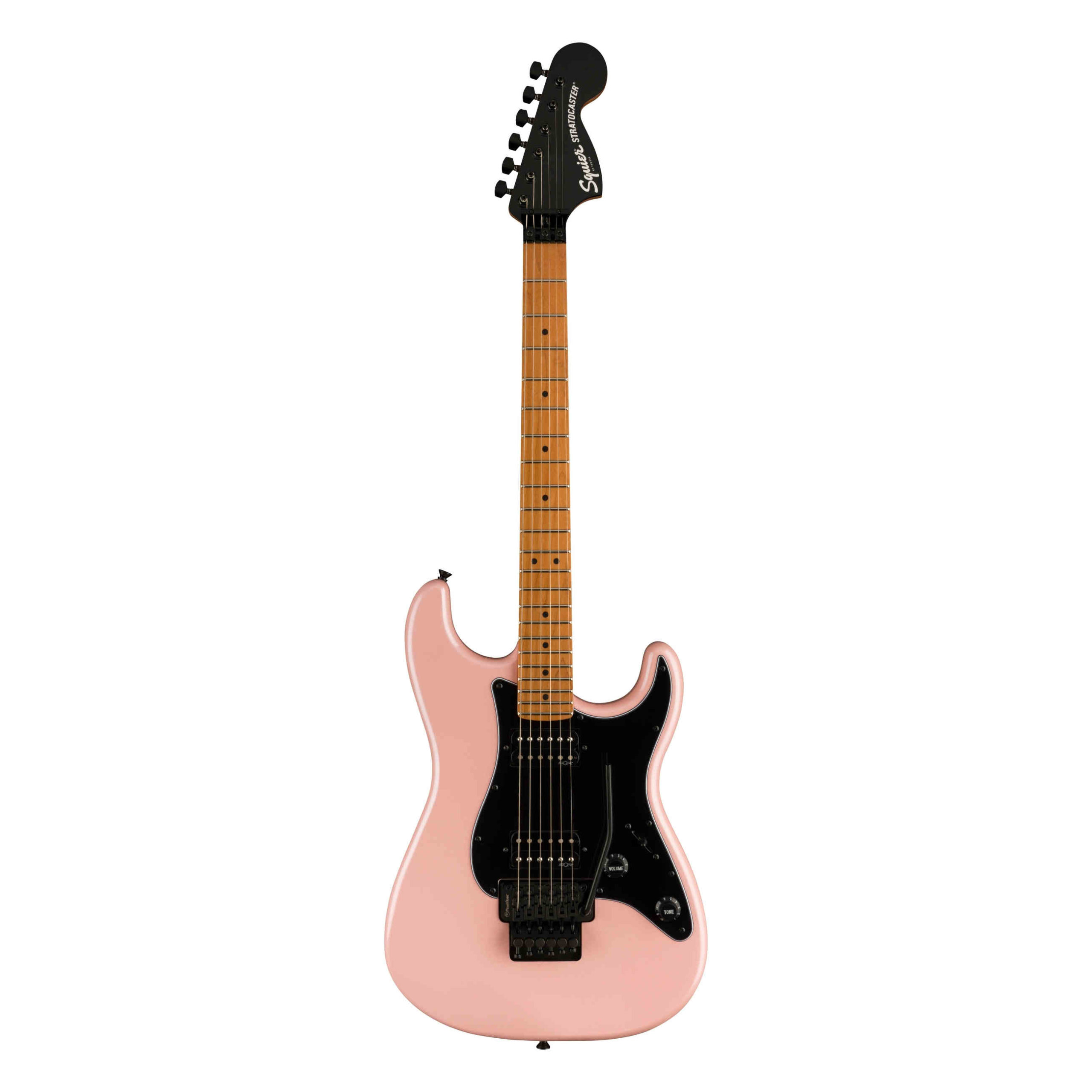 Squier Contemporary Stratocaster® Special HH FR, Roasted Maple Fingerboard, Shell Pink Pearl