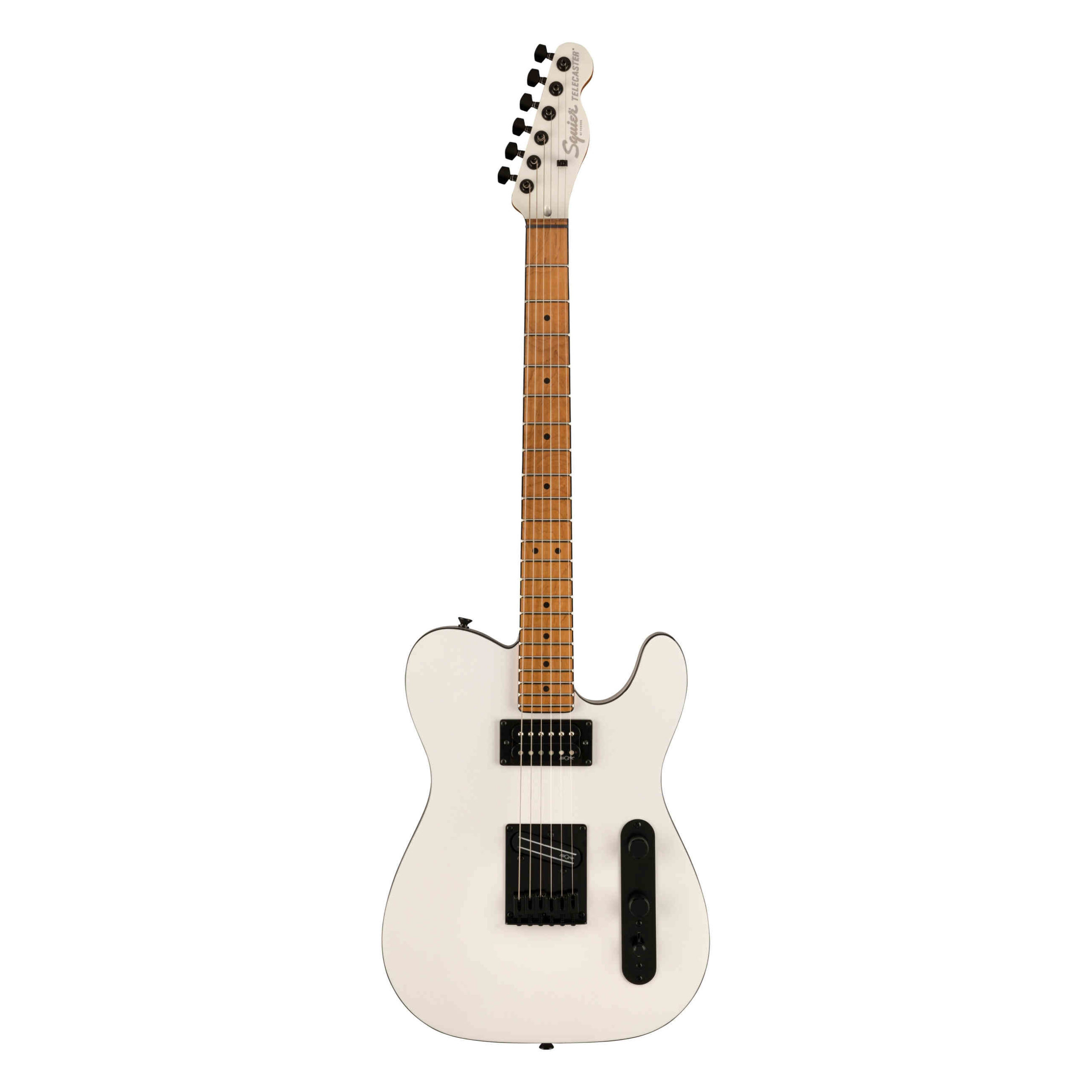 Squier Contemporary Telecaster® RH, Roasted Maple Fingerboard, Pearl White