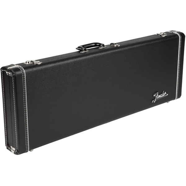 Fender G&G Deluxe Hardshell Cases - Stratocaster®/Telecaster®, Black with Orange Plush Interior