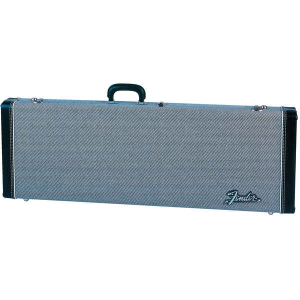 Fender G&G Deluxe Hardshell Cases - Stratocaster®/Telecaster®, Black Tweed with Black Interior
