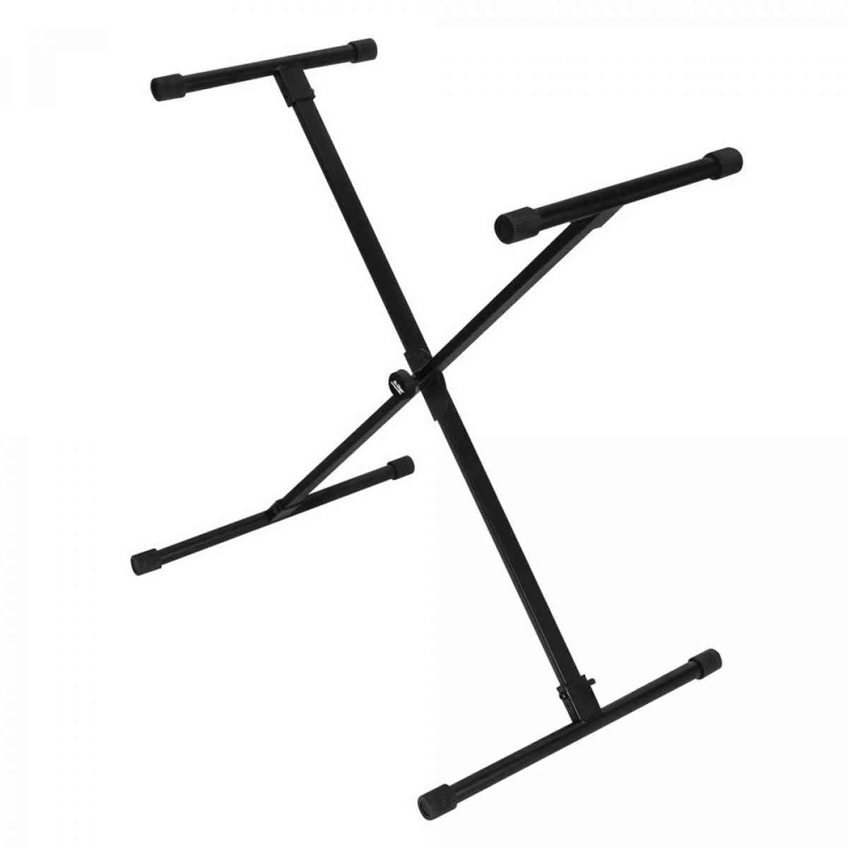 On-Stage KS8190X Single-X Bullet Nose Keyboard Stand with Lok-Tight Construction