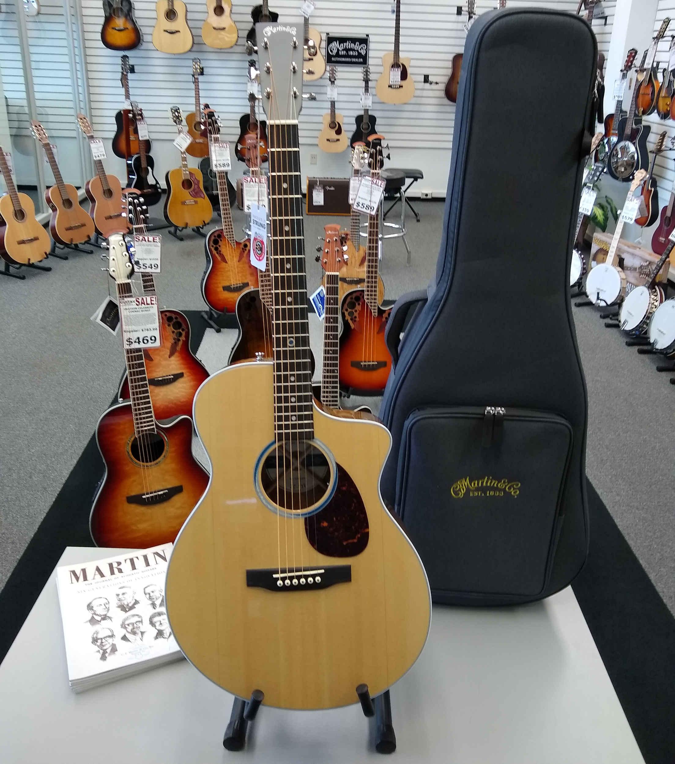Martin SC13E Acoustic Guitar