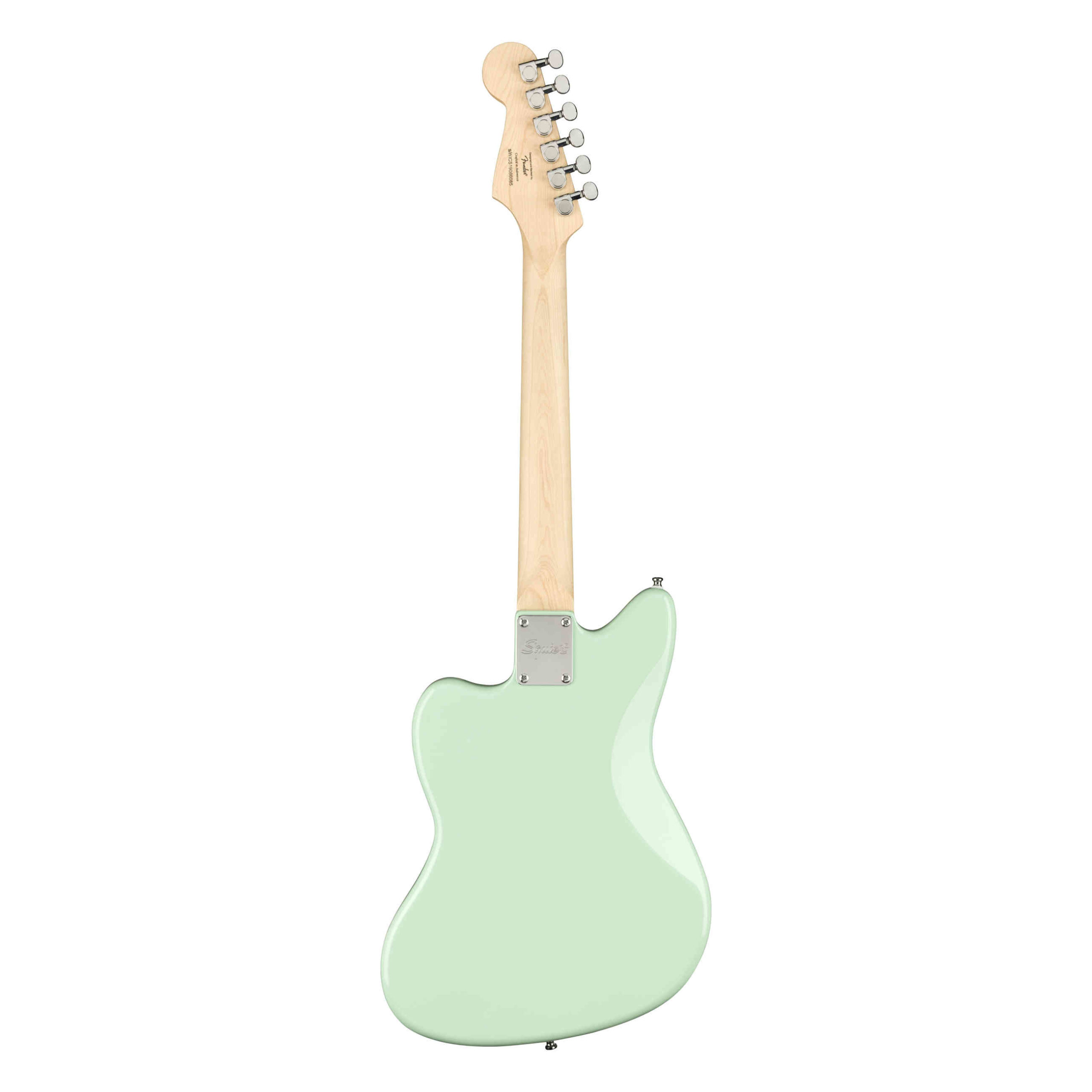 Squier Mini Jazzmaster® HH, Maple Fingerboard, Surf Green