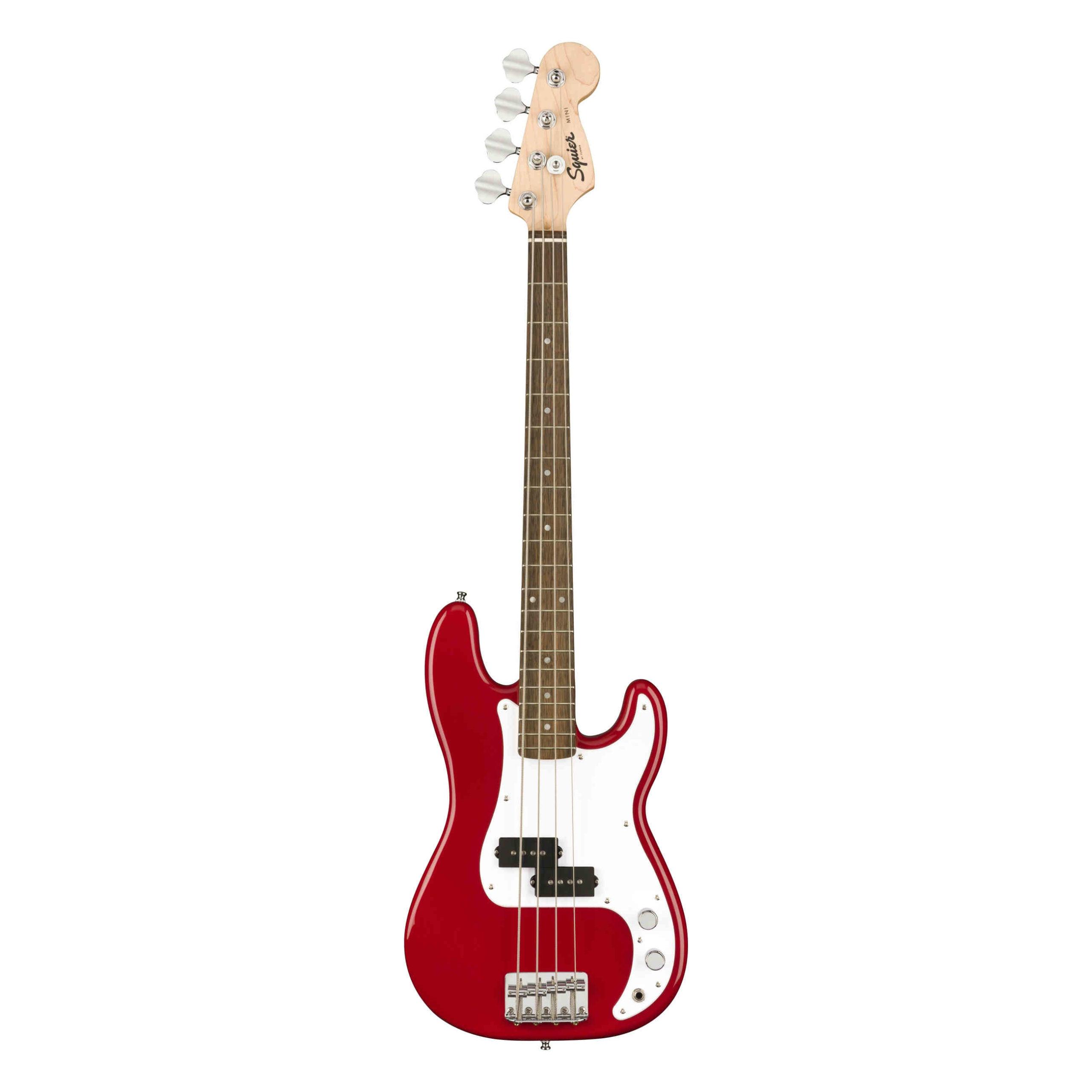 Squier Mini Precision Bass®, Laurel Fingerboard, Dakota Red