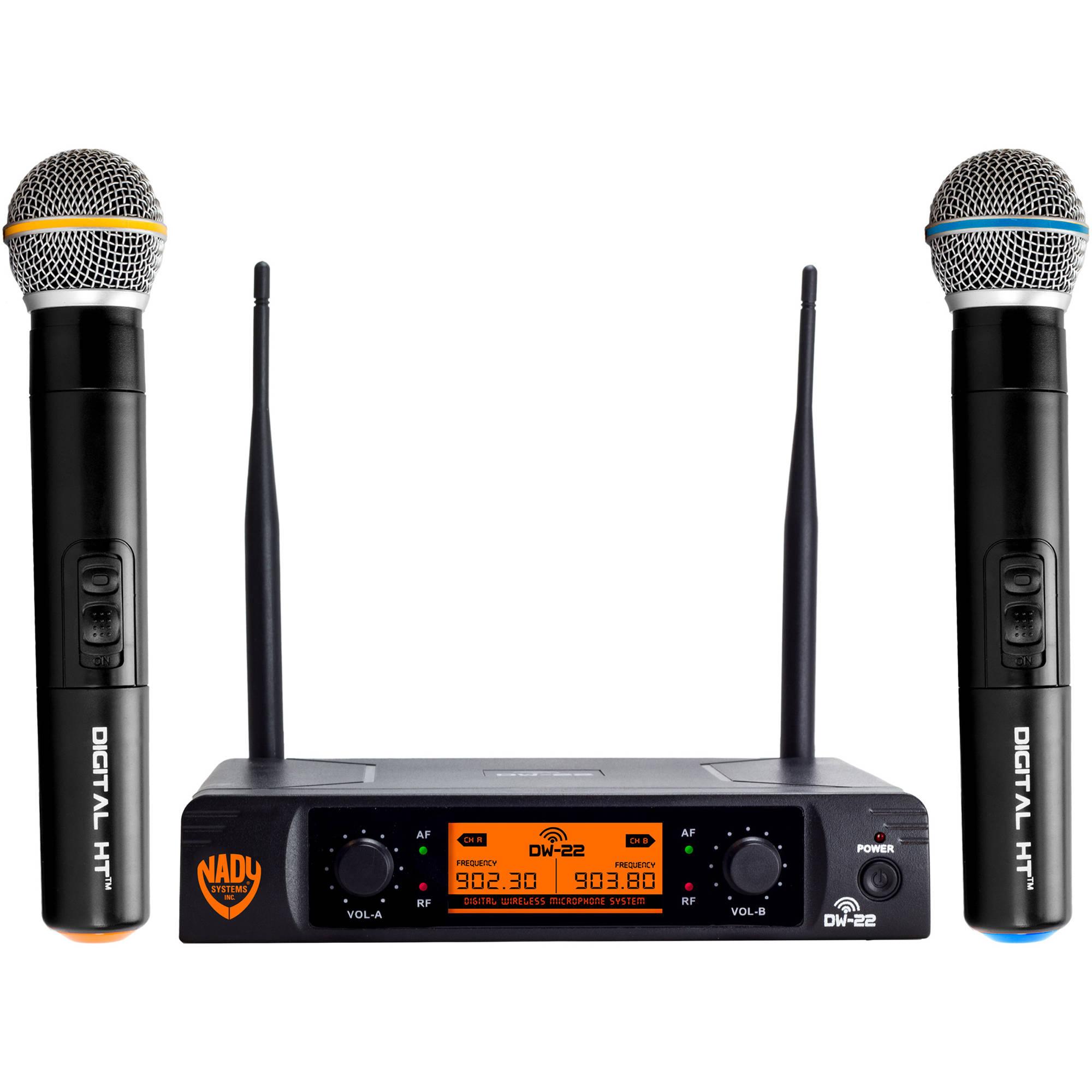 Nady Dual Wireless Handheld Microphone Package