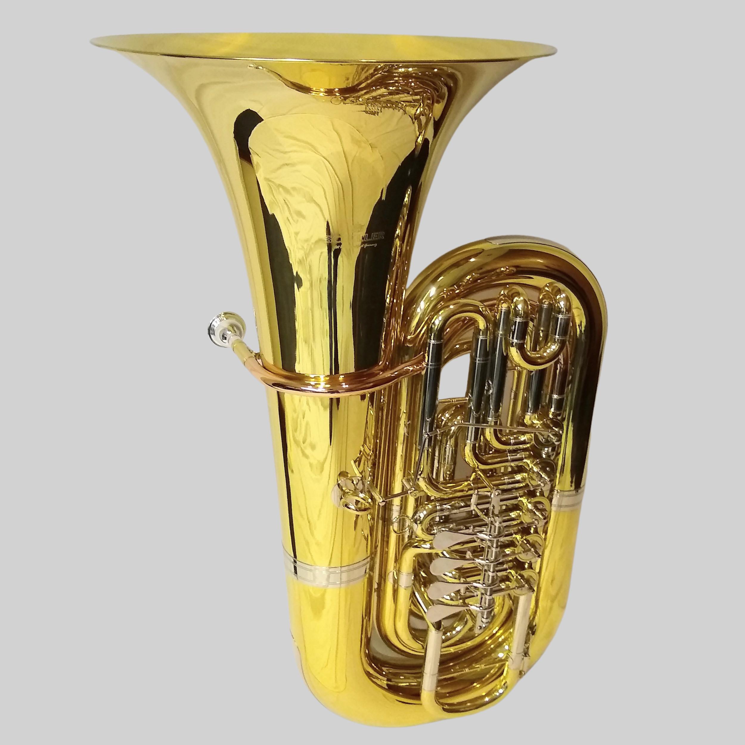 Schiller American Heritage 5 Valve Rotary Tuba C-Bb-A