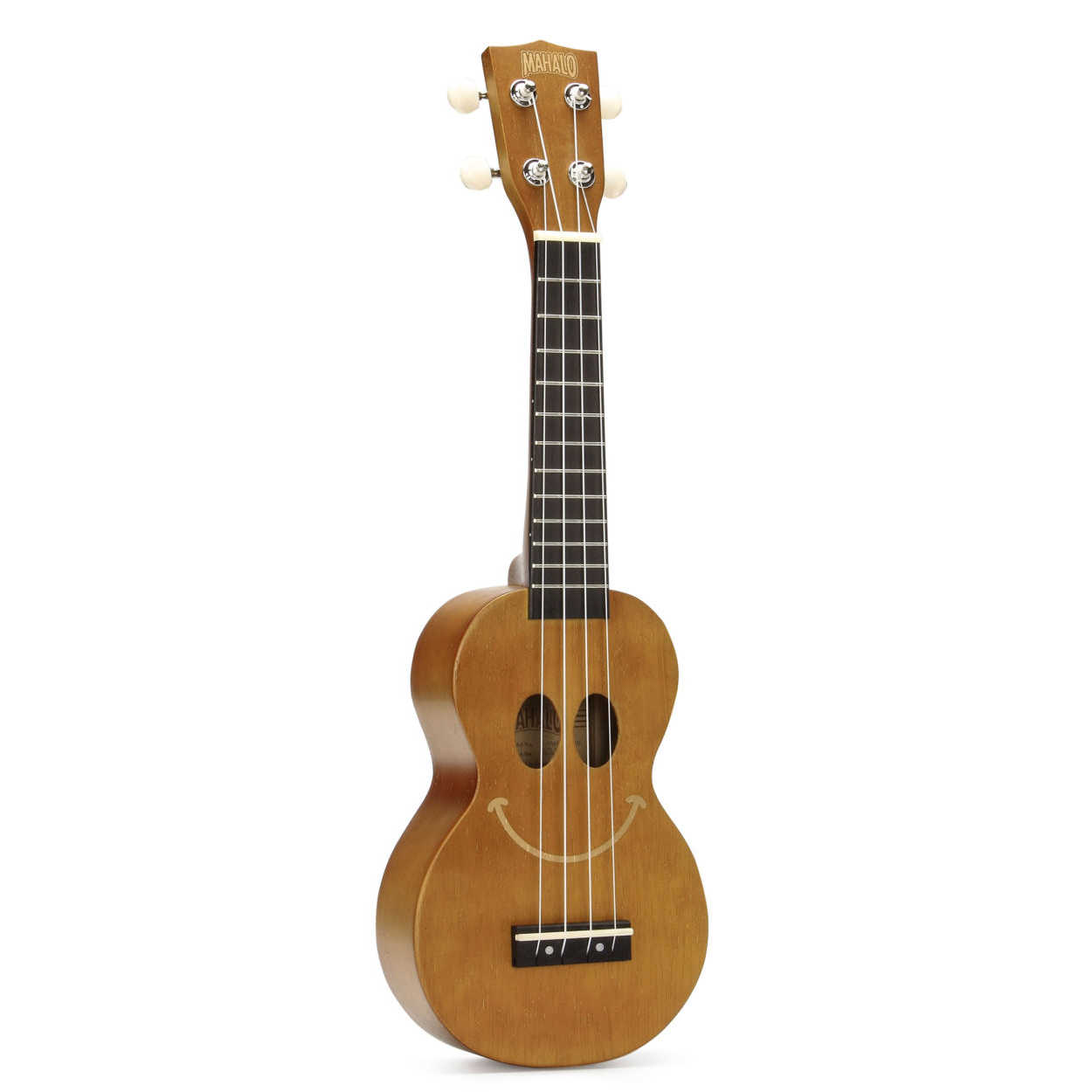 Mahalo U-Smile Series – Soprano Ukulele - Transparent Brown