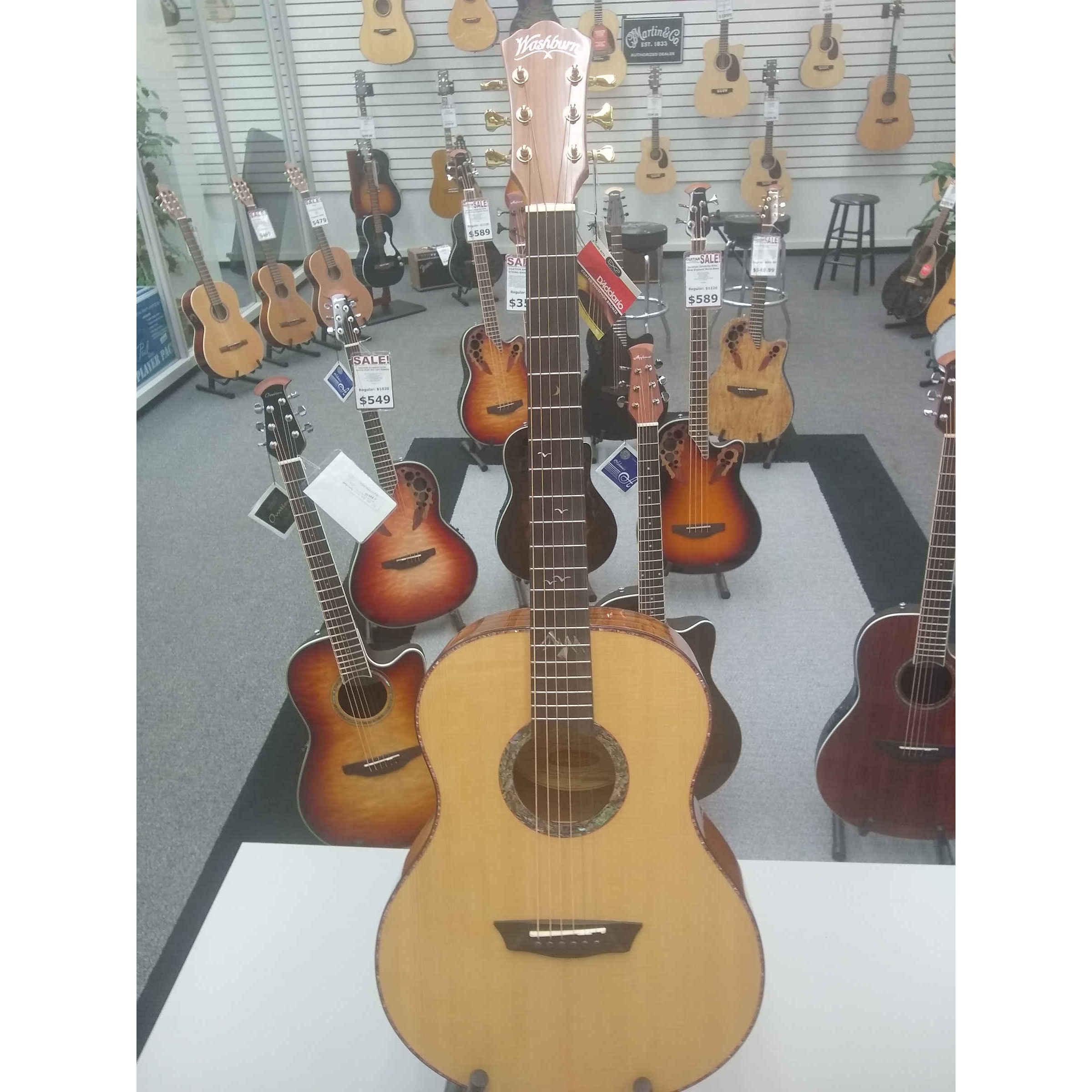 Washburn Bella Tono Parlor Guitar