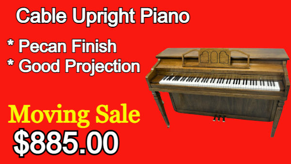 Cable Upright Piano