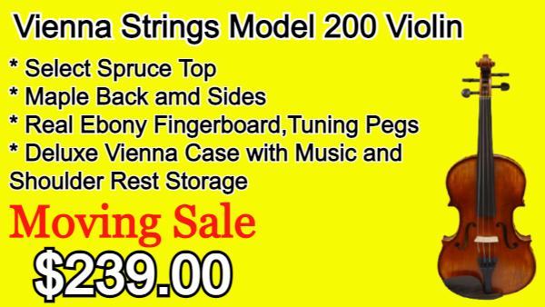 Vienna Strings Model 200 Violin