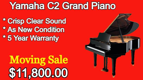 Yamaha C2 Grand Piano 5'8